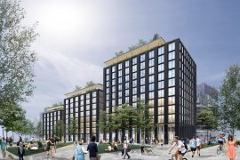 USA Planned To Build Countries Largest Timber Office Building