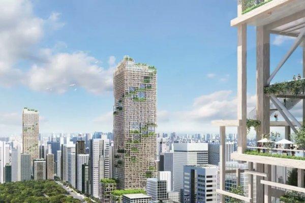 Ճապոնիայում Կկառուցվի Աշխարհի Ամենաբարձր Փայտյա Երկնաքերը
