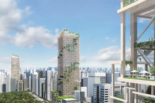 Japan To Build World's Tallest Timber Skyscraper In Tokyo