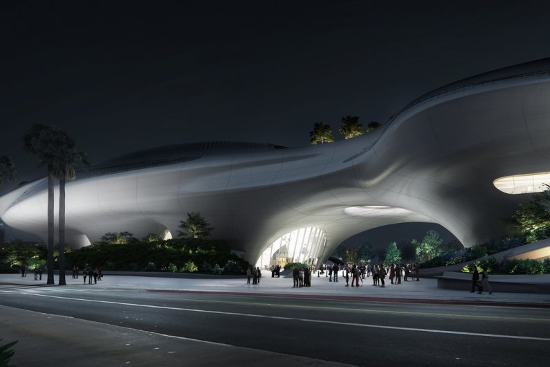 "Futuristic ""Spaceship"" Museum Breaks Ground In Los Angeles"