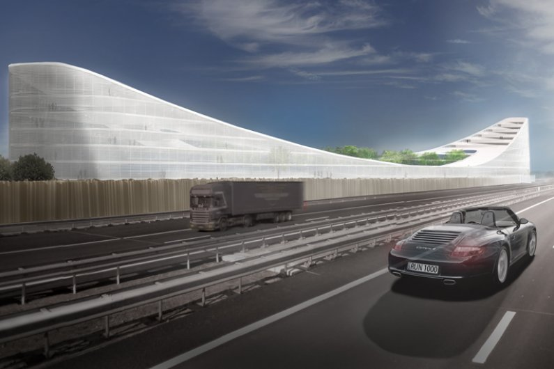 """The """"Dutch Mountains"""" Will Be the World's Largest Wooden Building"""