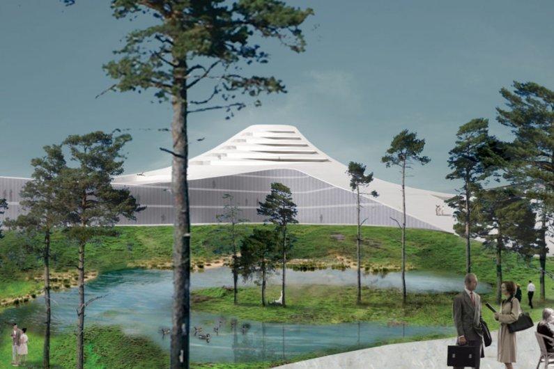 Комплекс «Голландские Горы» Станет Крупнейшим Деревянным Сооружением в Мире