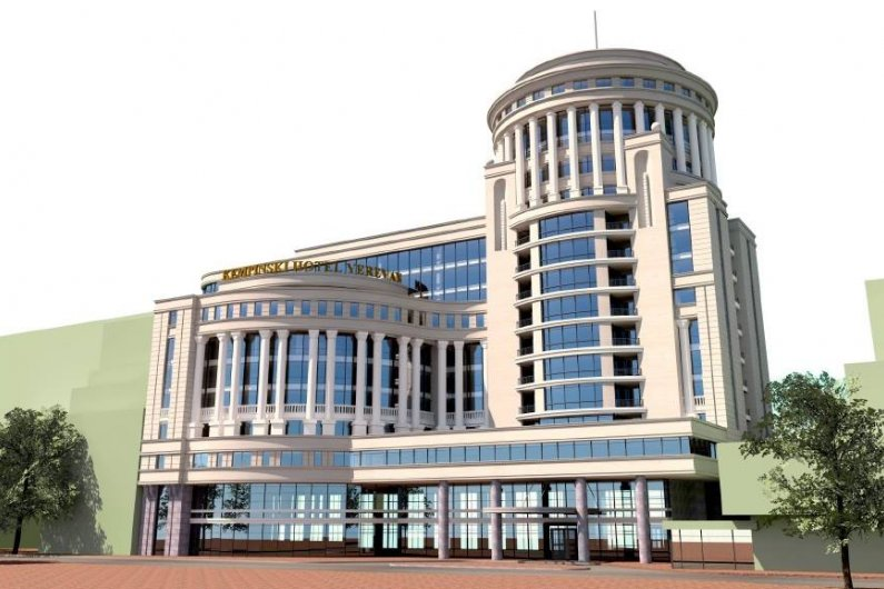Երևանում Կեմպինսկի Հյուրանոցի Կառուցման Երկար Ճանապարհը