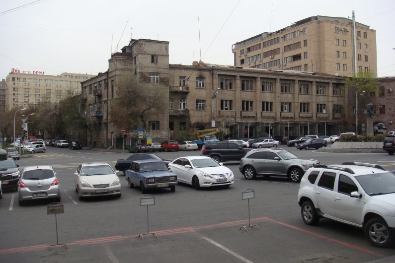 Andrey Sakharov Square in Yerevan