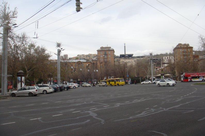 France Square in Yerevan