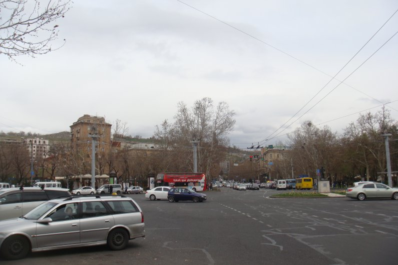 France Square in Yerevan