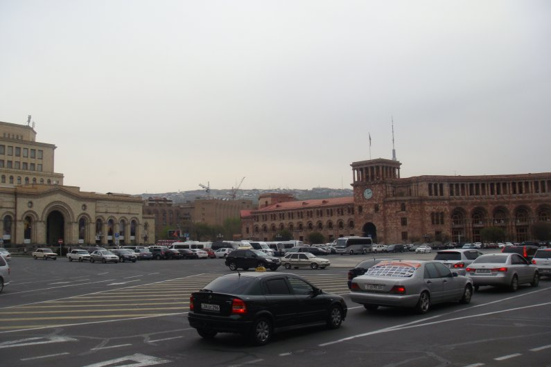 Republic Square in Yerevan