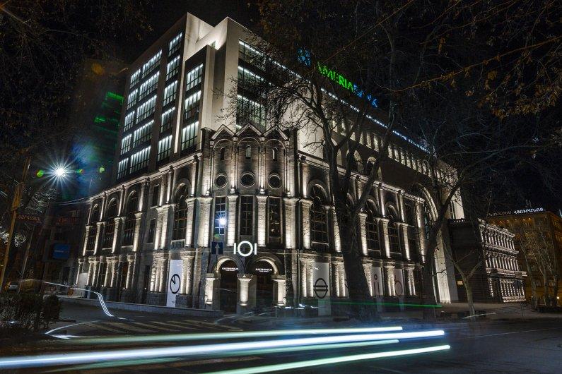 New Green Building in Yerevan