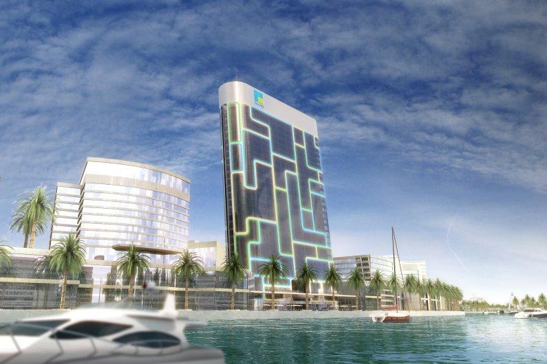Դուբայում iPod-ի Տեսքով Բնակելի Երկնաքեր Է Կառուցվում