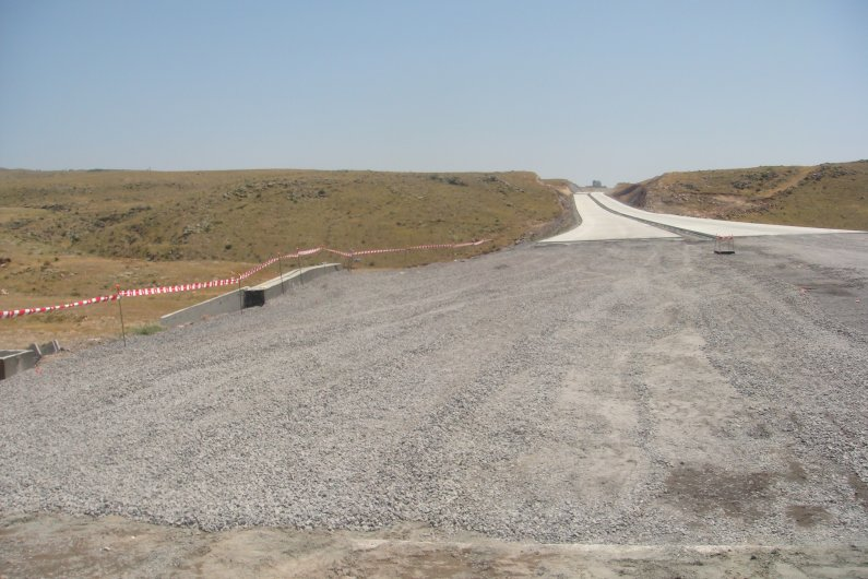 North South Highway Construction Continues