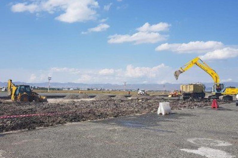 Gyumri airport apron reconstruction