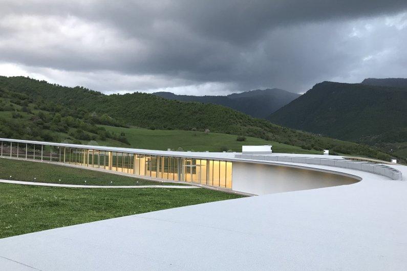 КОАФ Смарт Центр – Архитектура Интегрированная в Природу