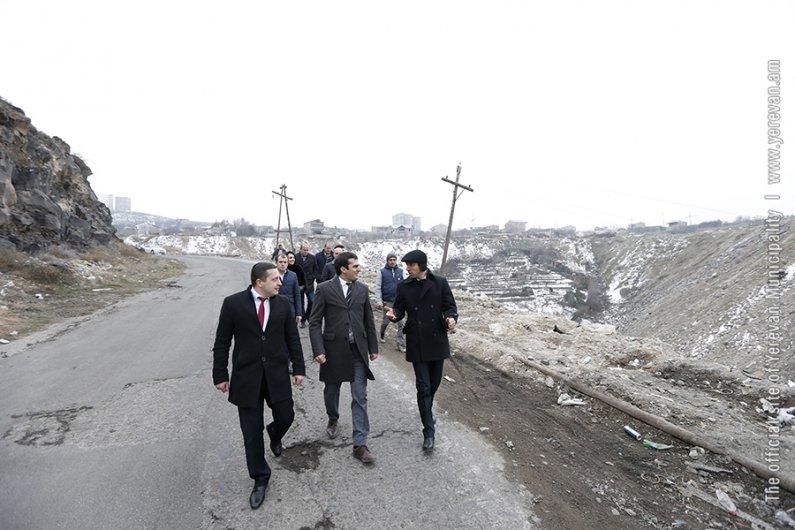 New Bypass Roads of Yerevan