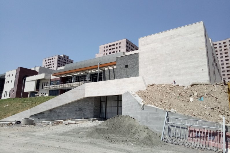 New Education and Sports Complex in Yerevan