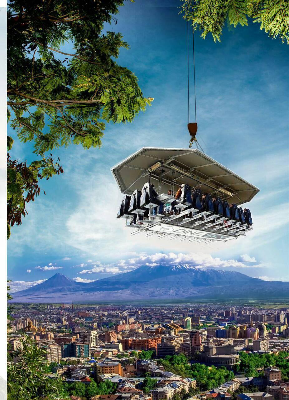 Flying Restaurant in Armenia