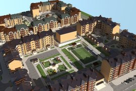 Two New City Blocks in Stepanakert