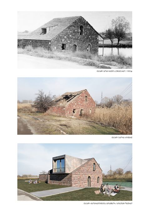 The Architects Focus On 18th Century Mill