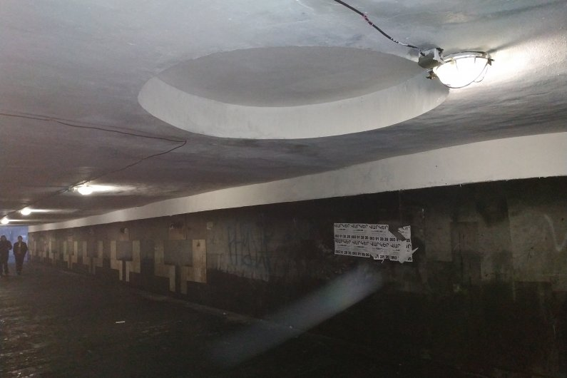 Underpasses in Yerevan Take a New Breath