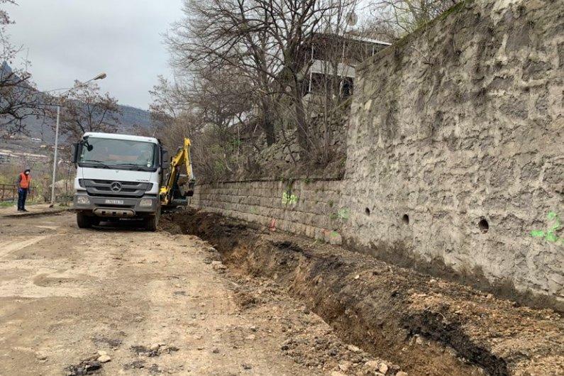 Հիմնանորոգվում  է Մ6  Միջպետական Ճանապարհի Թումանյան-Բագրատաշեն Հատվածը
