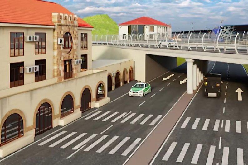 Միջազգային Նորմատիվներին Համապատասխան Նոր Կամուրջ Սադախլո-Բագրատաշեն Տարածքում