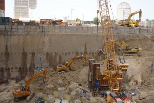 Damac Heights Residential Tower Construction Begins
