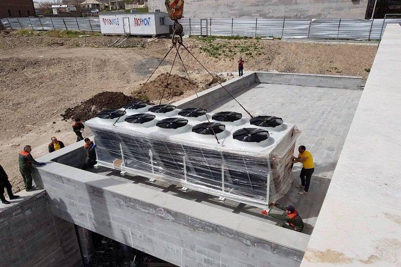 Սահադաշտի սառեցման սարքավորում (չիլեր)