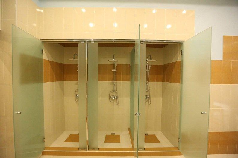 Installation of sanitary ware