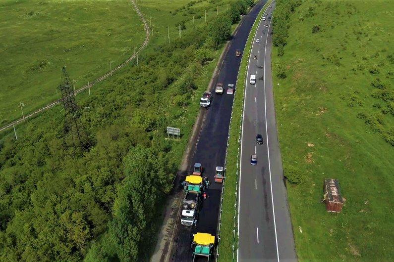 Sevan-Yerevan highway km41-km57 renovation