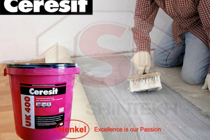 Ceresit UK400 Սոսինձ տեքստիլ,ՊՎՔ,լինոլեումի համար