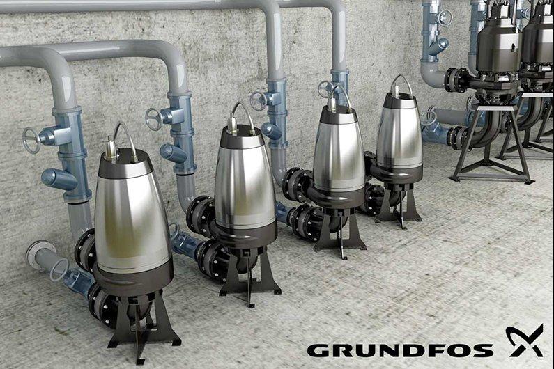 Grundfos կոյուղու պոմպ