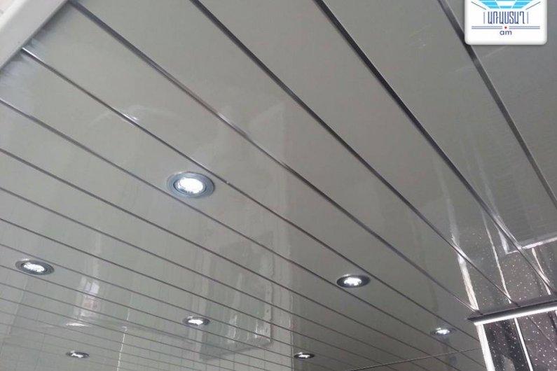 Алюминиевые реечные потолки