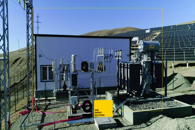 6 MW Solar Power Plant - transformer substation