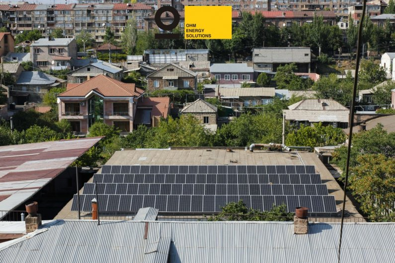 Three-Phase Solar power plant Yerevan 30kW