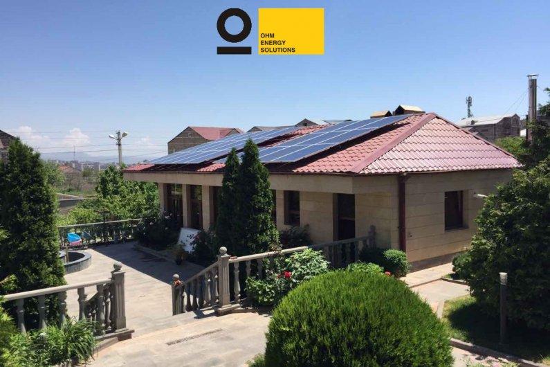 Գերմանական տեխնալոգիաներով արևային կայան - Երևան