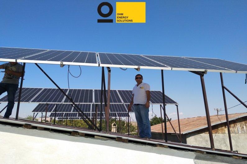 Солнечная электростанция 10 кВт OHM ENERGY