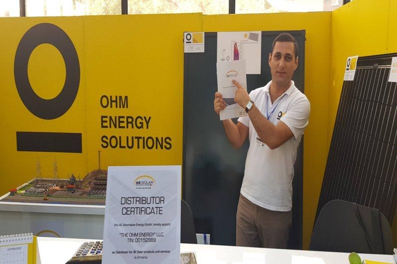 AE Solar дистрибьютор в Армении