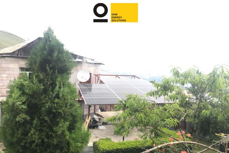 5,5 kW Solar photovoltaic station