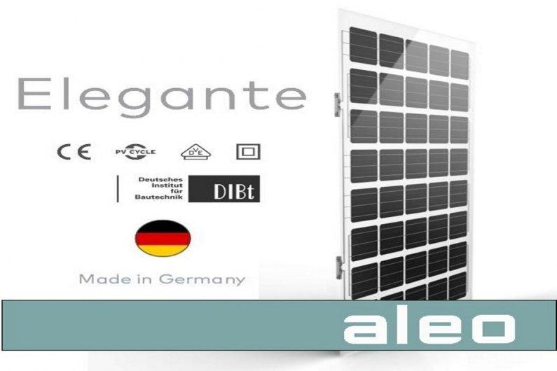 Панели ELEGANTE от Aleo Solar