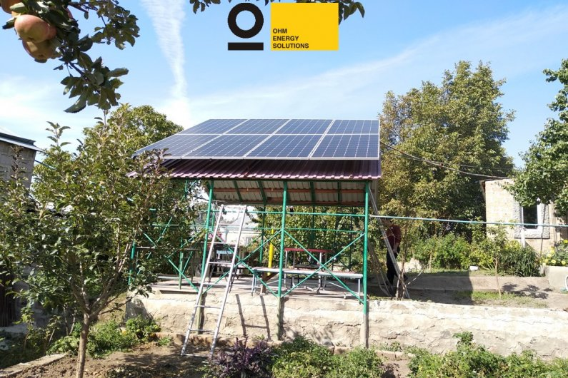 Գերմանական տեխնալոգիաներով արևային կայան - Աբովյան