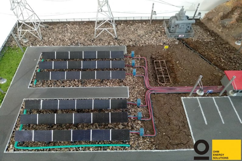 Project of solar PV power plant