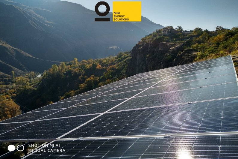 AE solar PV panels in Armenia