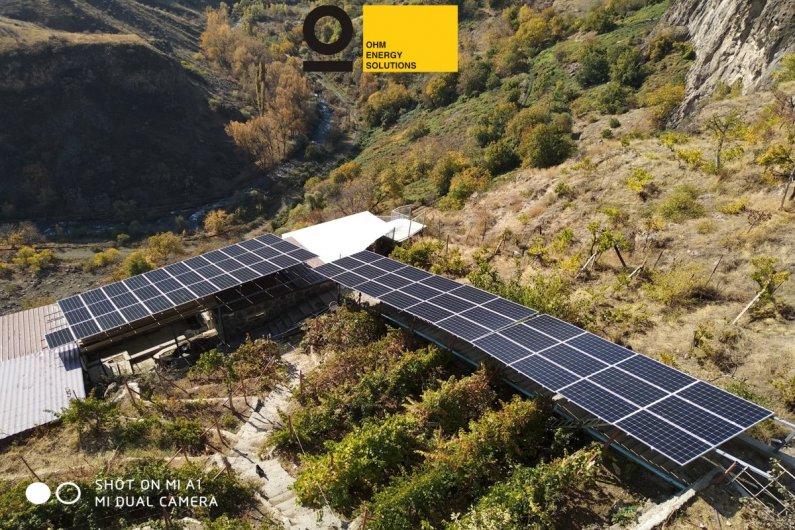 Արևային էլեկտրակայան - Գառնի 7 Քար