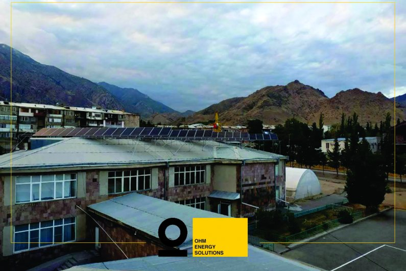 New solar power system installed in Agarak school