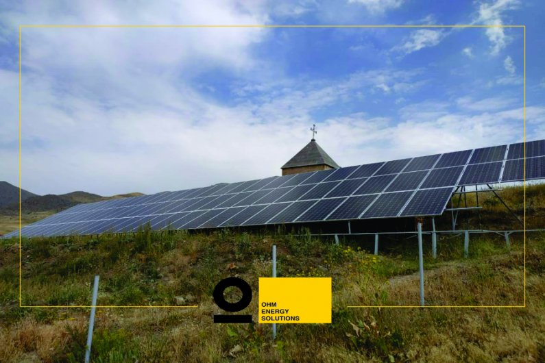 A 54 kW solar power system in Yelpin