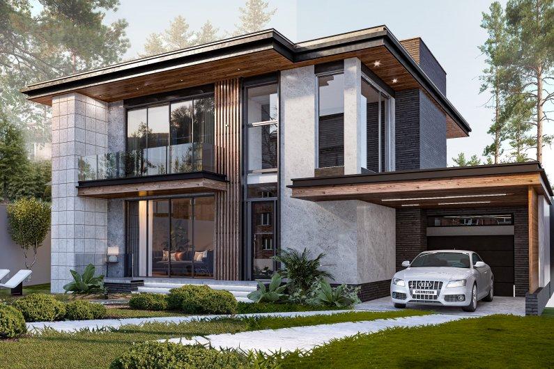 Առանձնատան նախագիծ, նախագծում տուն, տան նախագիծ