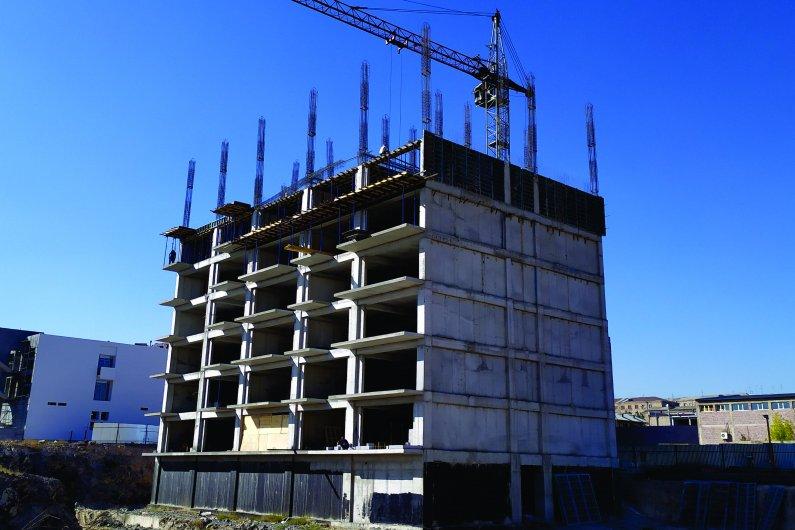 «Նոյ» Բազմաֆունկցիոնալ բնակելի համալիրի 2-րդ մասնաշենքը 15․10․2019-ի դրությամբ