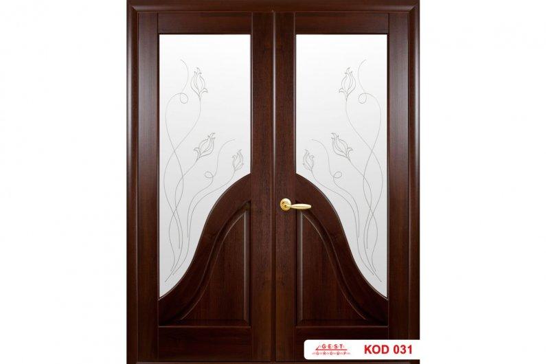 պատվերով երկփեղկ դռներ