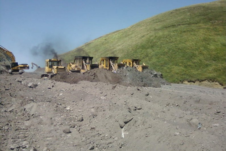 Road Construction in Armenia