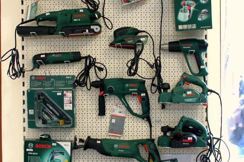 Bosch կանաչ գործիքներ