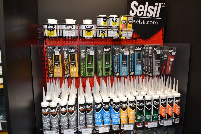 Selsil silicon , adhesive,